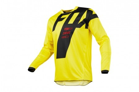 Мотоджерси Fox 180 Mastar Jersey Yellow M (19430-005-M)