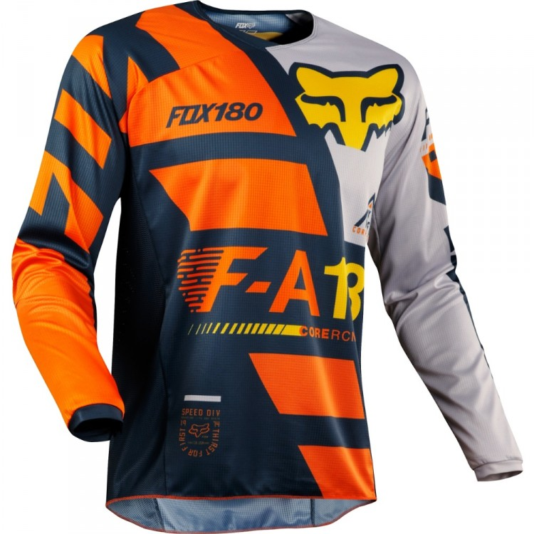Мотоджерси Fox 180 Sayak Jersey Orange XL (19428-009-XL)